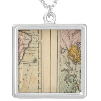 South America, Atlantic Ocean Silver Plated Necklace