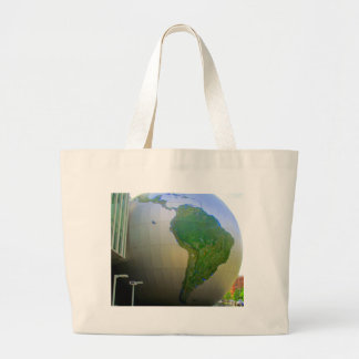 South America Tote Bags