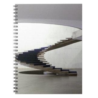 South America, Brazil, Brasilia. Interior Notebooks