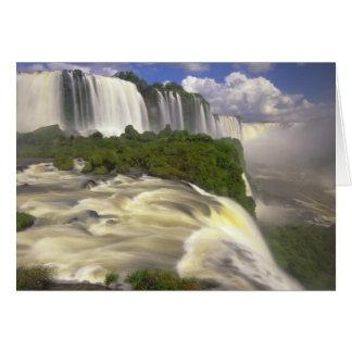 South America, Brazil, Igwacu Falls. Glorious Card
