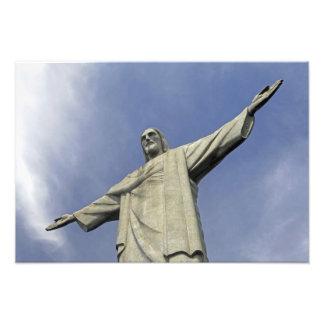 South America, Brazil, Rio de Janeiro. Christ 2 Photo Print