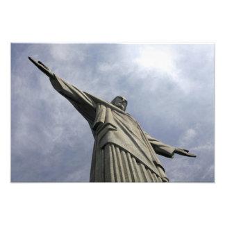 South America, Brazil, Rio de Janeiro. Christ 3 Photographic Print
