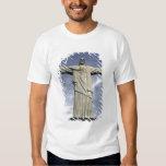 South America, Brazil, Rio de Janeiro. Christ Shirts