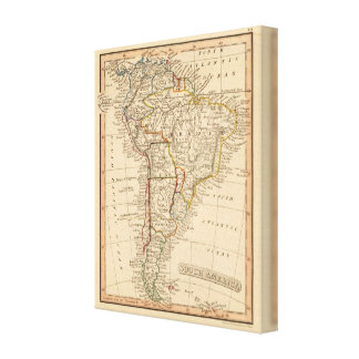 South America Canvas Print