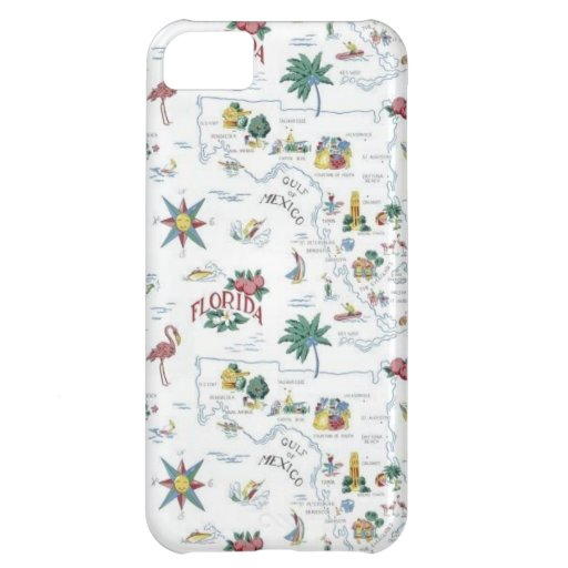 South America Case For iPhone 5C
