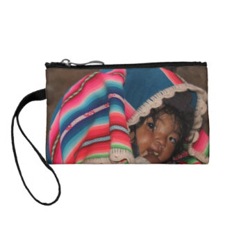 South America Children, South American Child, Baby Coin Purses
