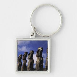 South America, Chile, Easter Island, Ahu Akiri. Key Ring