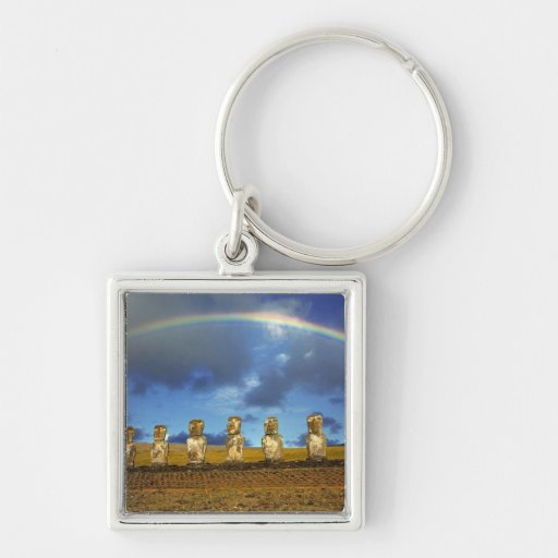 South America, Chile, Easter Island. The full Keychain