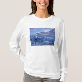 South America, Chile, San Rafael Lagoon NP. T-Shirt