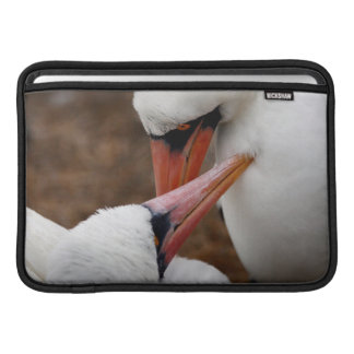 South America, Ecuador, Galapagos Islands. Nazca MacBook Sleeve