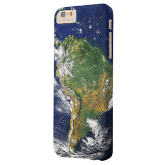 South America from Space - Satellite Image Barely There iPhone 6 Plus Case