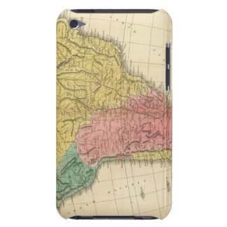 South America History Map iPod Touch Cover