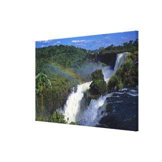 South America; Latin America; Argentina; Brazil; Canvas Print