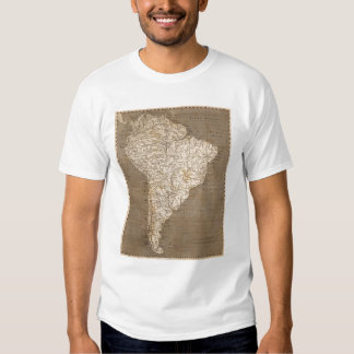 South America Map by Arrowsmith T Shirt