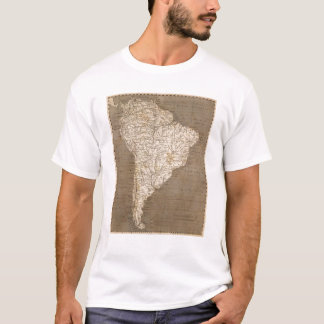 South America Map by Arrowsmith T-Shirt