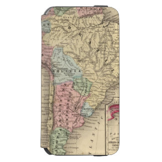 South America Map by Mitchell Incipio Watson™ iPhone 6 Wallet Case