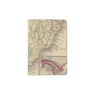 South America Map by Mitchell Passport Holder