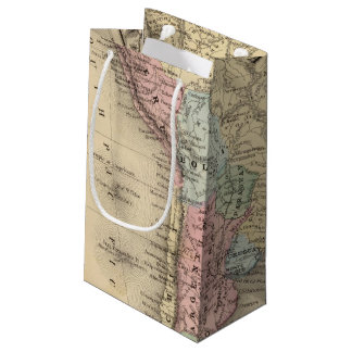 South America Map by Mitchell Small Gift Bag