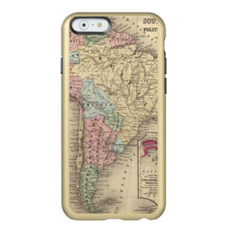 South America Map by Mitchell Incipio Feather® Shine iPhone 6 Case