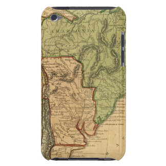 South America Map by Worcester Case-Mate iPod Touch Case