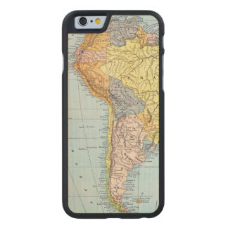 SOUTH AMERICA: MAP, c1890 Carved® Maple iPhone 6 Slim Case
