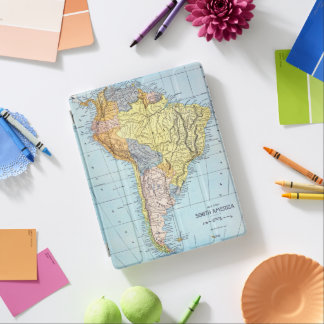 SOUTH AMERICA: MAP, c1890 iPad Cover