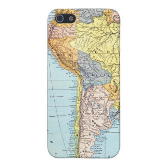 SOUTH AMERICA: MAP, c1890 iPhone 5/5S Cases