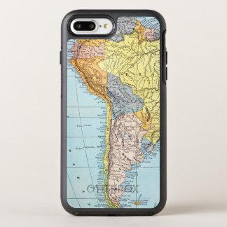 SOUTH AMERICA: MAP, c1890 OtterBox Symmetry iPhone 8 Plus/7 Plus Case