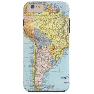 SOUTH AMERICA: MAP, c1890 Tough iPhone 6 Plus Case