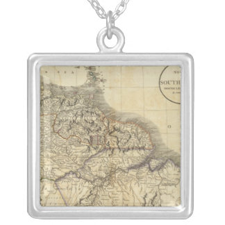 South America north Silver Plated Necklace