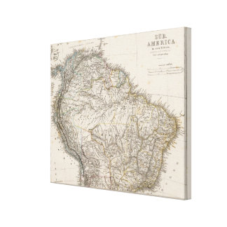 South America norther region Canvas Print