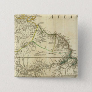 South America Northern Section 15 Cm Square Badge