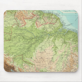 South America northern section Mouse Mat