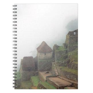 South America Peru Macchu Picchu Spiral Notebook