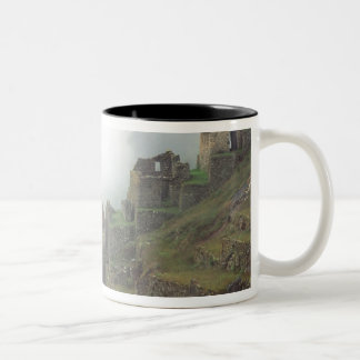 South America Peru Macchu Picchu Two-Tone Coffee Mug