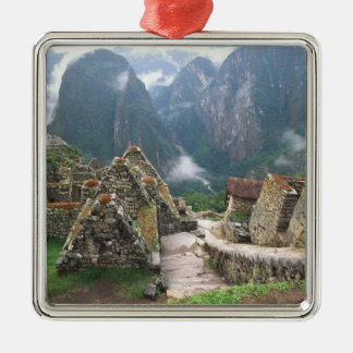 South America, Peru, Machu Picchu Christmas Ornament