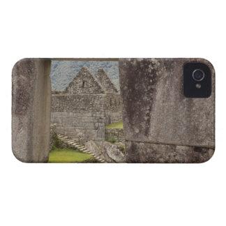 South America Peru Machu Picchu Ruins of a Blackberry Case