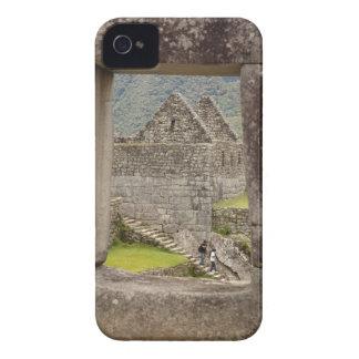 South America Peru Machu Picchu Two tourists Blackberry Bold Covers