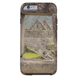 South America, Peru, Machu Picchu. Two tourists Tough iPhone 6 Case