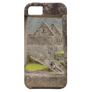 South America, Peru, Machu Picchu. Two tourists iPhone 5 Cover