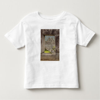 South America, Peru, Machu Picchu. Two tourists Toddler T-Shirt