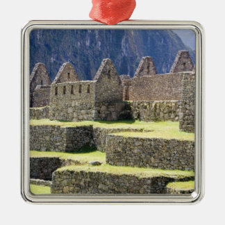 South America - Peru. Stonework in the lost Inca Christmas Ornament