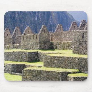 South America - Peru. Stonework in the lost Inca Mouse Mat
