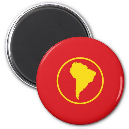 South America (Proposal) flag Refrigerator Magnet
