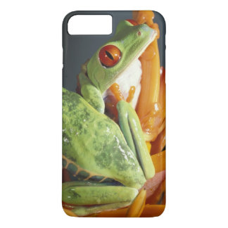 South America. Red-eyed tree frog Agalycmis iPhone 8 Plus/7 Plus Case