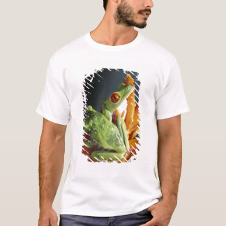 South America. Red-eyed tree frog Agalycmis T-Shirt