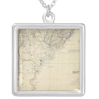 South America S Silver Plated Necklace
