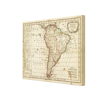 South America School Canvas Print