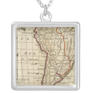 South America School Silver Plated Necklace
