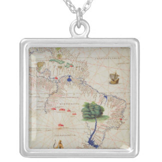 South America Silver Plated Necklace